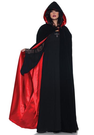 Capa Bruxa / Vampira / Halloween ( Ange )