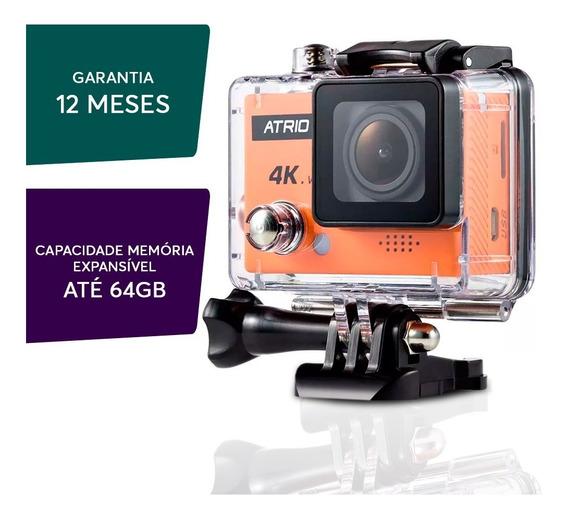 Câmera Wifi Ação 12mp 4k Atrio Full Sport