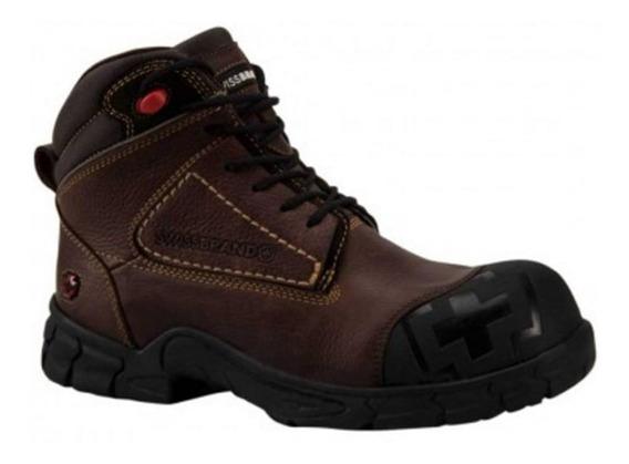 Bota Industrial Swiss Brand 0701 Id 169492 Moka Hombre