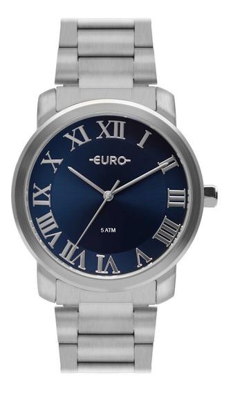Relógio Feminino Euro Prata Eu2036ynn/3a