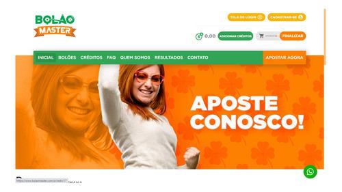 Imagem 1 de 4 de Vendo Site De Bolão De Loterias Da Caixa Completo