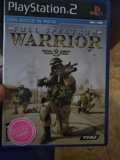 Juego Original Ps2 Full Spectrum Warrior