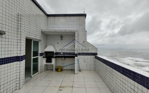 Imagem 1 de 15 de Linda Cobertura Duplex 3 Dormitórios Na Vila Caiçara Em Praia Grande
