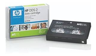 Hp Dds-2 8gb Dds 2 Cartucho De Datos 4mm 120 Mts C5707a
