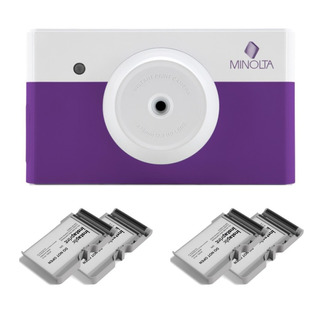 Minolta Mncp10 Instapix Cámara De Impresión