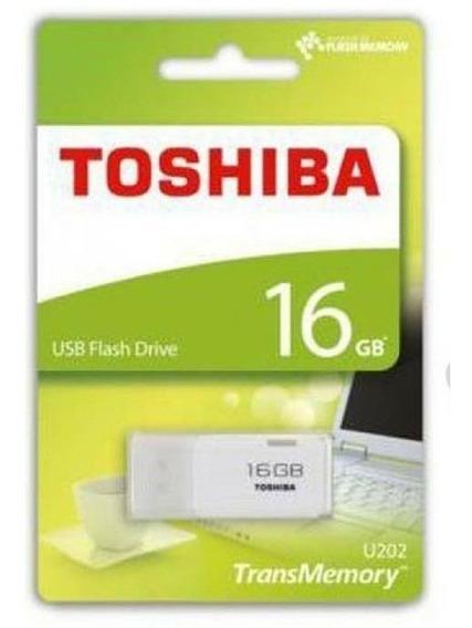 Pen Drive 16 Gb Toshiba U202 Original Lacrado