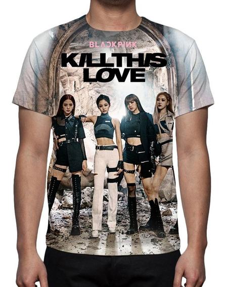 Camiseta Kpop Black Pink - Kill This Love - Mod 01