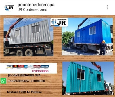 Container 6x2. 5 Mts