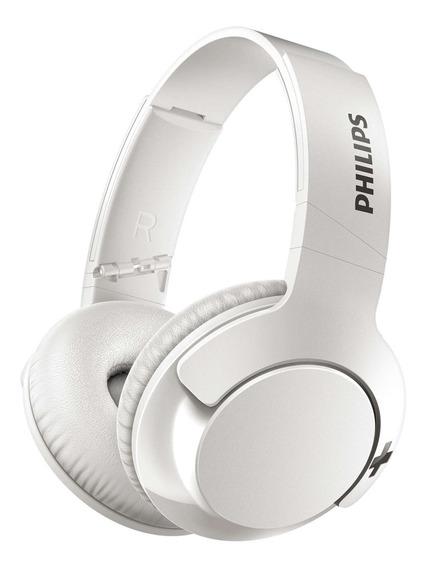 Headphone Philips Shb3175wt/00 Mic Bt Branco
