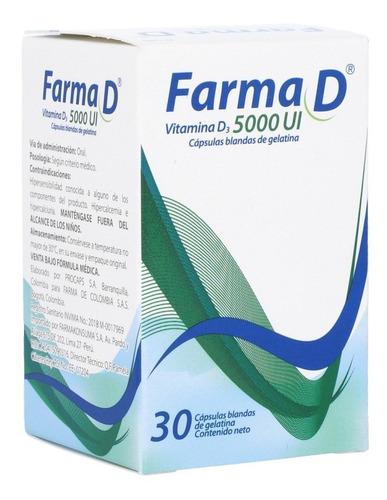 Farma D 5000 X 30 - Unidad A $455 - Unidad a $65500