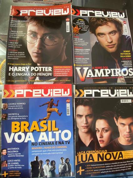 Revista Preview. Número 1 A 10. 2009. 10 Edições.