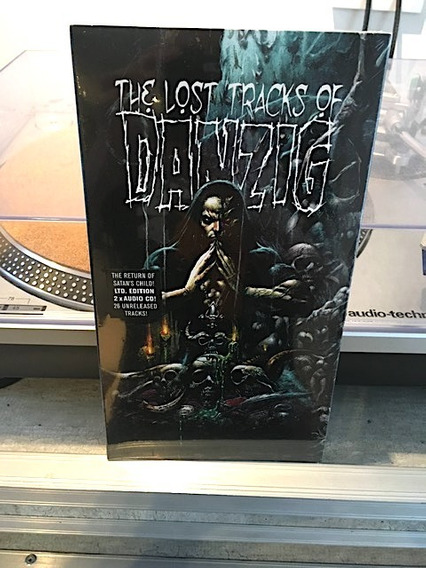 Danzig - The Lost Tracks Of Danzig - 2 Cds Long Box Ed. Ltda
