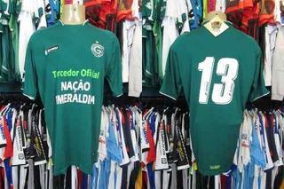 Goiás 2008 Camisa Titular Tamanho Gg Número 13.