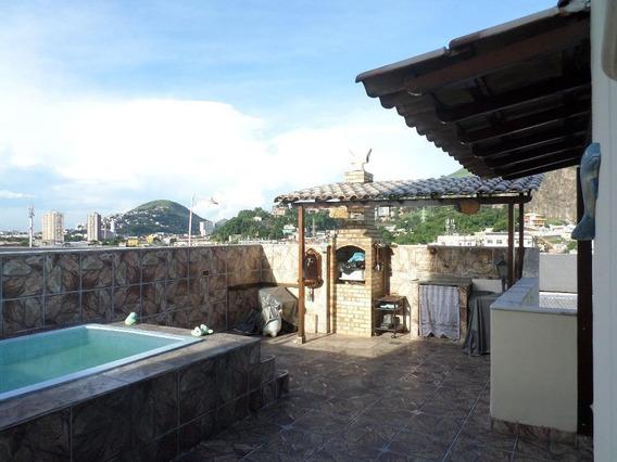 Cobertura Em Centro, Niterói/rj De 159m² 2 Quartos À Venda Por R$ 890.000,00 - Co390982