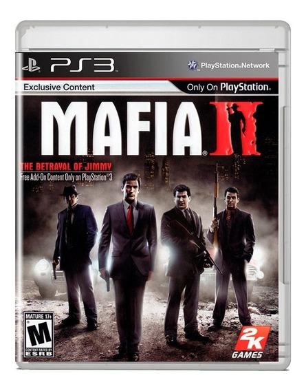 Mafia Ii Ps3 Midia Fisica Pronta Entrega + Nota Fiscal