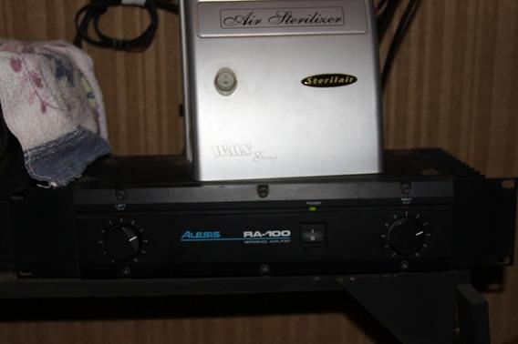 Alesis Monitor One + Aplificador Ra 100
