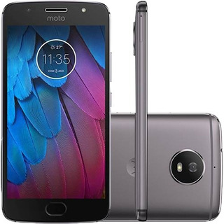 Motorola Moto G5s Xt1792 Platinun 32gb Dual Demonstração