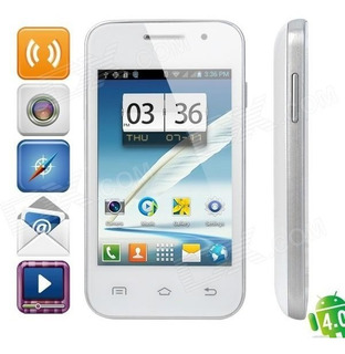 Mini 7100 Android 4.0 Gsm Bar Telefone W / 3.5 Tela Capacit