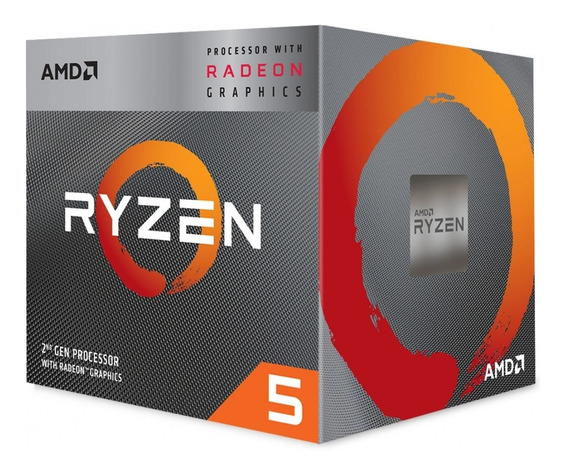 Amd Ryzen 5 3400g With Radeon Rx Vega 11