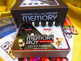 Electro Harmonix Deluxe Memory Boy Delay .... Boss Dd500 Dd3