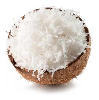 Coco Ralado Em Flocos Grossos Sem Adição De Açúcar 2kg