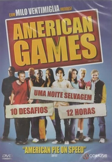 Dvd Filme - American Games (dublado/legendado/lacrado)