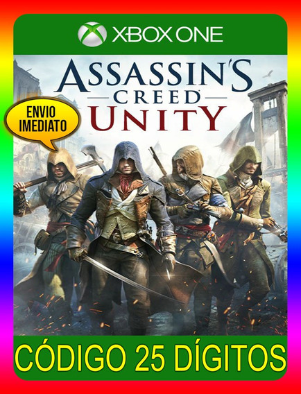 Assassins Creed Unity Xbox One - 25 Dígitos (envio Já)