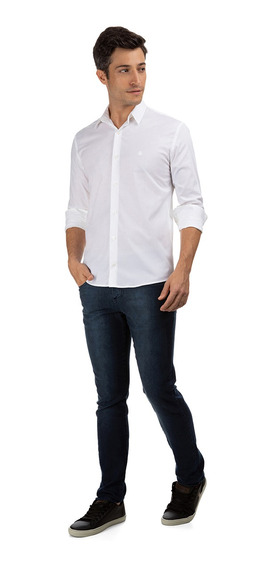 Camisa Regular Polo Wear Masculina 35644