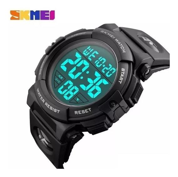 Kit Com 2 Relógio Digital Sendo 1 Skmei 1258 + 1 Skmei 1251