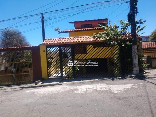 Sobrado Com 3 Dormitórios À Venda, 350 M² Por R$ 1.000.000,00 - Vila Rosália - Guarulhos/sp - So0103