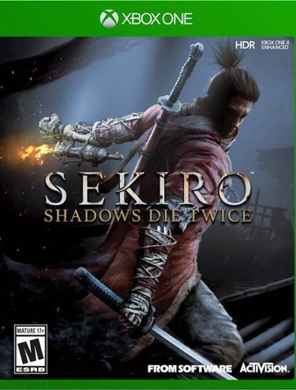 Sekiro Shadows Die Twice Xbox One - 25 Díg. (envio Rápido)