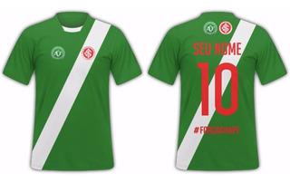 Camisa Chapecoense E Internacional Personalizada Nome