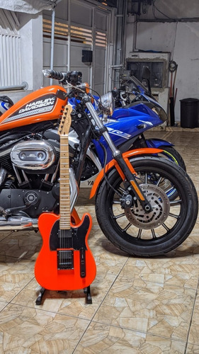 Harley Davidson Sportster 883r Laranja Ac Trocas