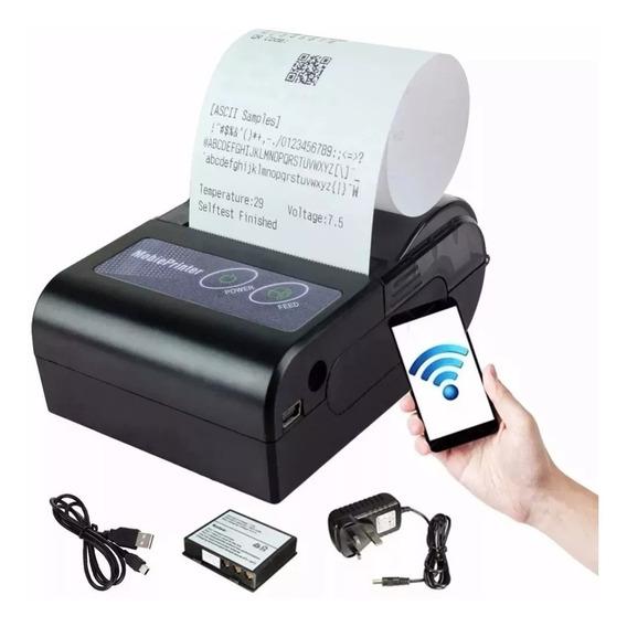 Mini Impressora Portatil Bluetooth Termica 58mm Cupom Pedido