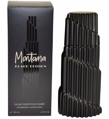 Perfume Montana Black Edition Masculino 125ml Edt - Origina