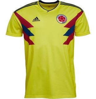 Jersey Original adidas Selección Colombia Local Mundial 2018