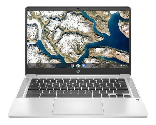 "Imagen 1 de 7 de Laptop HP Chromebook 14A-NA0023CL plata 14"", Intel Celeron N4000  4GB de RAM 64GB SSD, Intel UHD Graphics 600 1920x1080px Google Chrome"