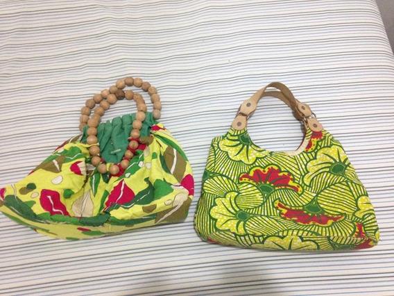 Duas Bolsas Espaço Fashion Usadas Muito Bom Estado R$79,94