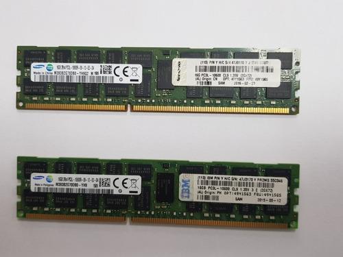 Imagem 1 de 1 de Memória Ibm 16gb Pc3l-10600 1333mhz 2rx4 Ecc Reg P/servidor