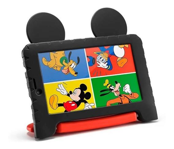 Tablet Infantil Criança Kids Mickey Android Wifi 16gb + Capa