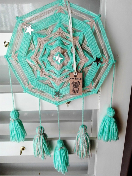 Mandalas Colgantes Estrellas @creacionespaolaponcelatino