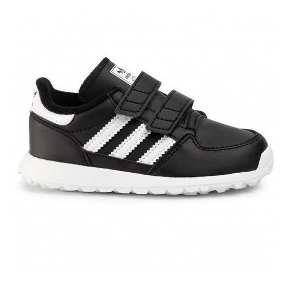 Zapatillas Escolar adidas Forest Grove Negro - Envio Gratis