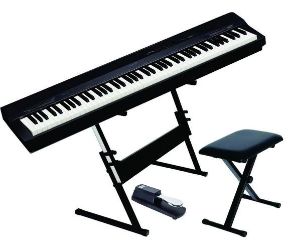 Piano Px160 + Sup Q1b + Pedal Mlstb1 + Banco Q90 - Loja