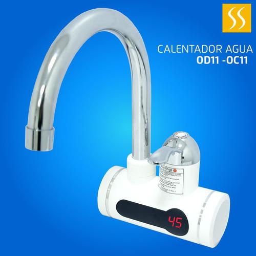 Llave De Agua Calentador Electrico De Pared 110v Cocina