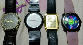 Lote De Relojes De Coleccion Quarzo Lomas De Zamora