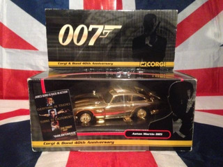 Carro Aston Martin Dourado De James Bond 1/36 Corgi Metal
