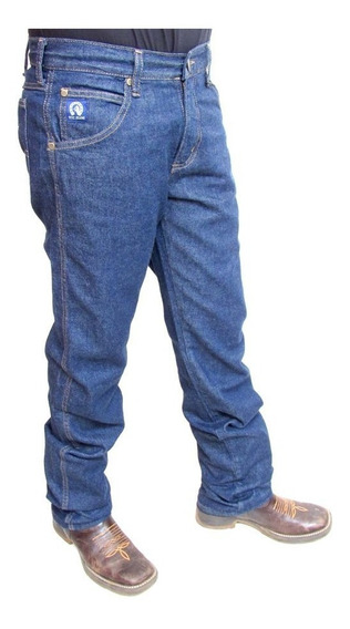 Calça Jeans Country Masculina Doc Jeans Black Tradicional
