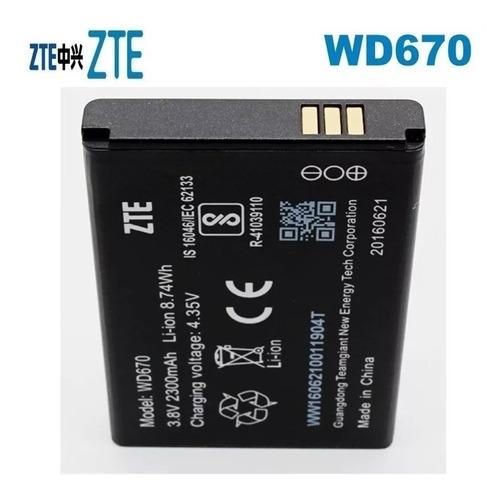 Batería De Wi Pod Zte Wd670 Supereconomica