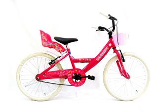 Bicicleta Playera Full Rodado 20 Dama(12-18cuotas)