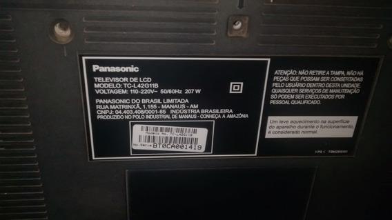 Peças Tv Panasonic 42 Polegadas Lcd Modelo:tc-42g11b